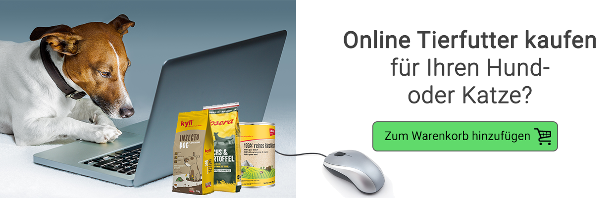 Tierfutter Online kaufen